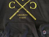 Crooked Coast x Champion Hoodie photo