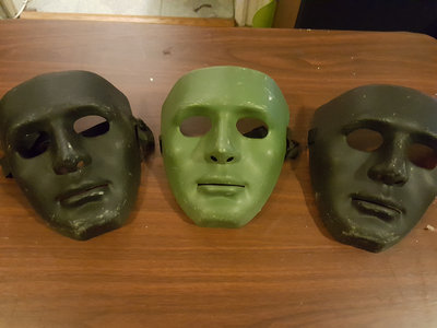 Signed ORIGINAL YBR? Swat Team Masks main photo