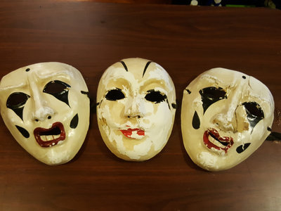 Signed YBR? Carnival Masks main photo
