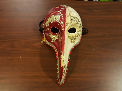 Signed YBR? Plague Doctor Mask main photo