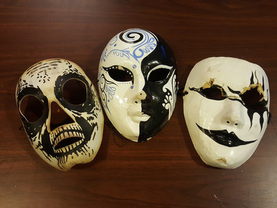 Signed YBR? Assorted B/W Masks main photo