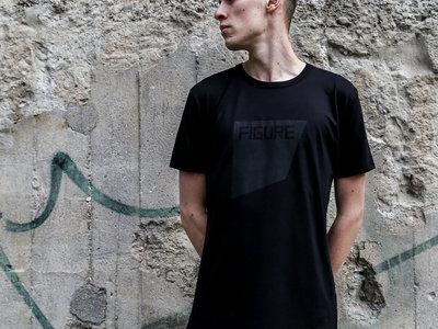 T-Shirt - The Square - Black on Black main photo