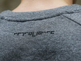 Sweater - The Square - Black On Grey photo
