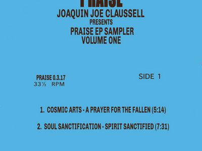 """PRAISE EP SAMPLER VOLUME 1 - 12"""" VINYL RELEASE main photo"""