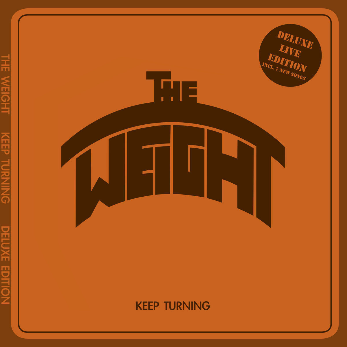 Keep Turning Deluxe Edition CD/Download | The Weight