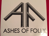 20 Ashes Of Folly Stickers photo