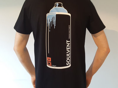 Spray Can Tee (Front & Back Print) main photo