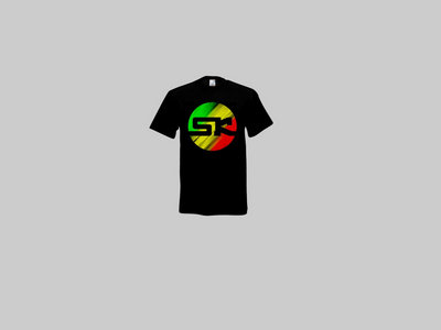 KnightWear - Black Tee with Tri Colour 'SK' Logo main photo