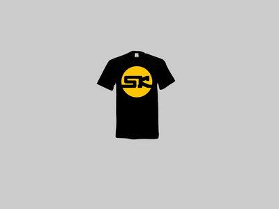 KnightWear - Black Tee with Yellow 'SK' Logo main photo