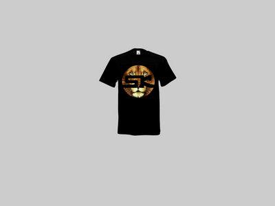 KnightWear - Black Tee with Lion face 'SK' Logo main photo