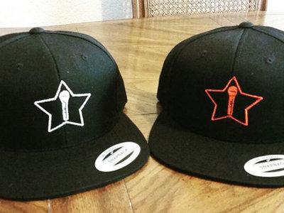 MicStar Flat Bill Snapback Hat main photo