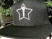 MicStar Flat Bill Snapback Hat photo