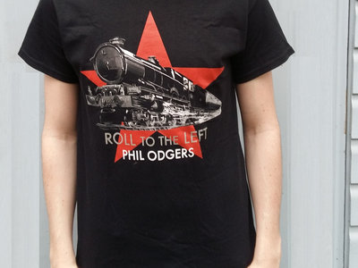 LAST FEW!!!  'Roll To The Left' T-Shirt - SIZES = Mens Small & Womens Cut main photo