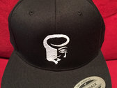 Black Snapback with White logo photo