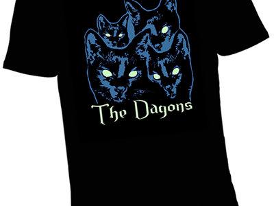 Glow eye cat shirt + a download main photo