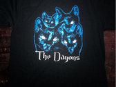 Glow eye cat shirt + a download photo