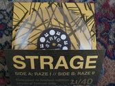 "Raze - limited edition 7"" (transparent) photo"