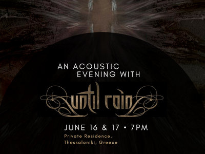 """Ticket to """"An Acoustic Evening with Until Rain"""" main photo"""