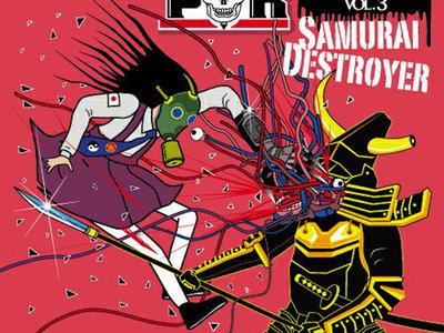 V.A. - IMMORTAL HARDCORE!!!! VOL.3 -Samurai Destroyer- (CD) main photo