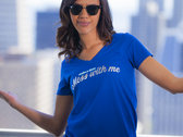 Mess With Me (make a little) - Women's V-Neck photo