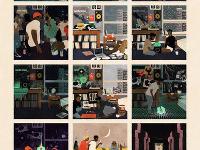 TB Afro Chronicles —A2 Digital Print Poster main photo