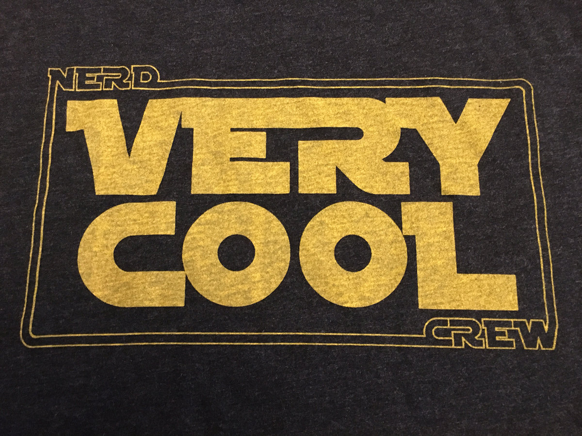 nerd crew very cool t shirt red letter media