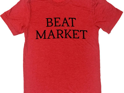 SPECIAL ! Beat Market  T-Shirt  Red  Unisex main photo