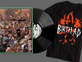 """LP combo special - """"I Blame You"""" Vinyl and Birth AD Shirt photo"""