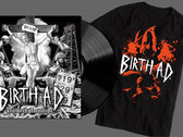 "LP combo special – ""Stillbirth of a Nation"" Vinyl and Birth AD Shirt photo"