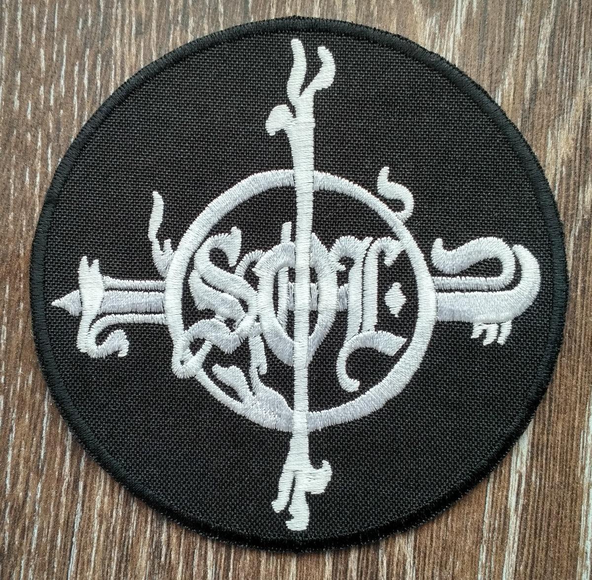 Beast of riddles monster of light archaic sound high quality embrodeired patch size 10 cm biocorpaavc