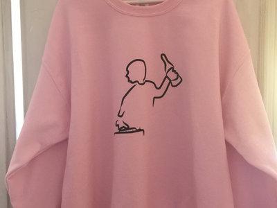 Spinner Crewneck Sweater (Pink) main photo