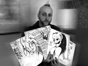 "DWV488 - Seraphim System - Pandaemonium (Limited Edition Vinyl LP Version PLUS 7"") main photo"