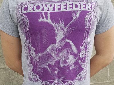Deer Skull Shirt (gray-purple) main photo