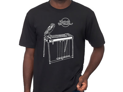 Owl & Pedal Steel T-Shirt (Black) main photo