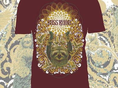 'Sun Sloth' - Boss Keloid T-Shirt Design (MAROON) main photo
