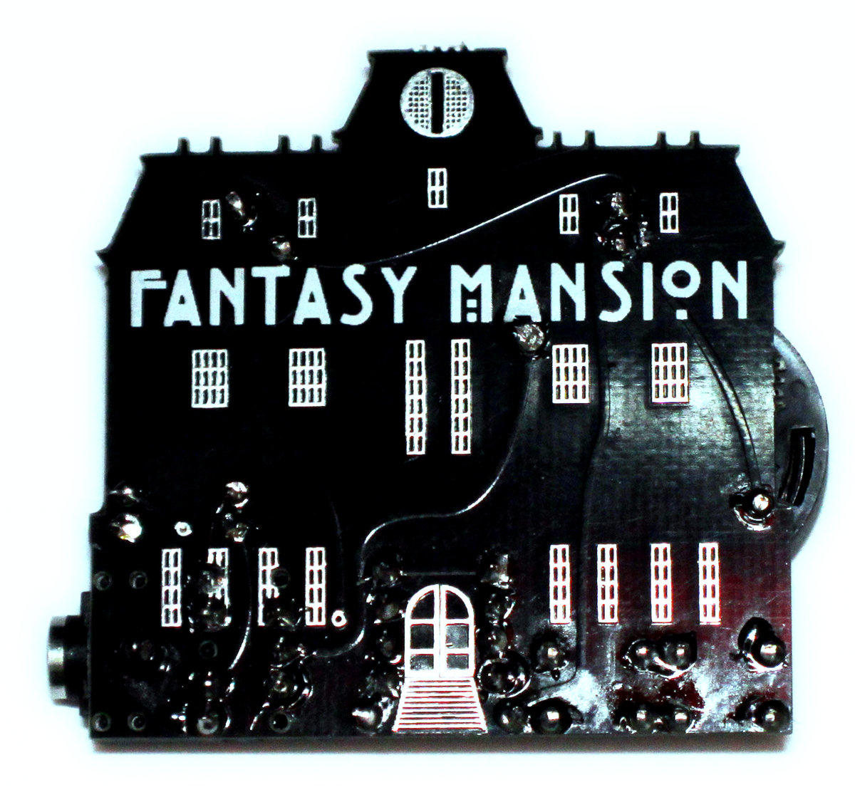 Fantasy Mansion Metronomicon Audio Printed Circuit Board Timeline My Version Of A Working Computer That Generates Polyphonic Melodies And Beats In Real Time While Also Serving As Programmable 32 Step Sequencer Glitch Fx