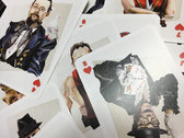 Set of 52 playing cards photo