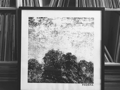 Screen-printed PHORMA001 Artwork by Maison Blessing (50 x 50 cm, ltd) main photo