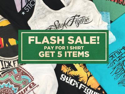 Stick Figure T-shirt Flash Sale main photo