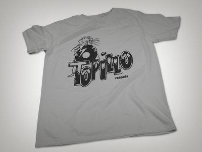 Topillo Records T-shirt (grey) main photo