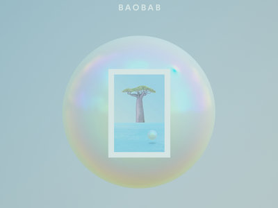 "Rodriguez Jr. - Baobab - 3 x 12"" Clear Vinyl Gatefold main photo"