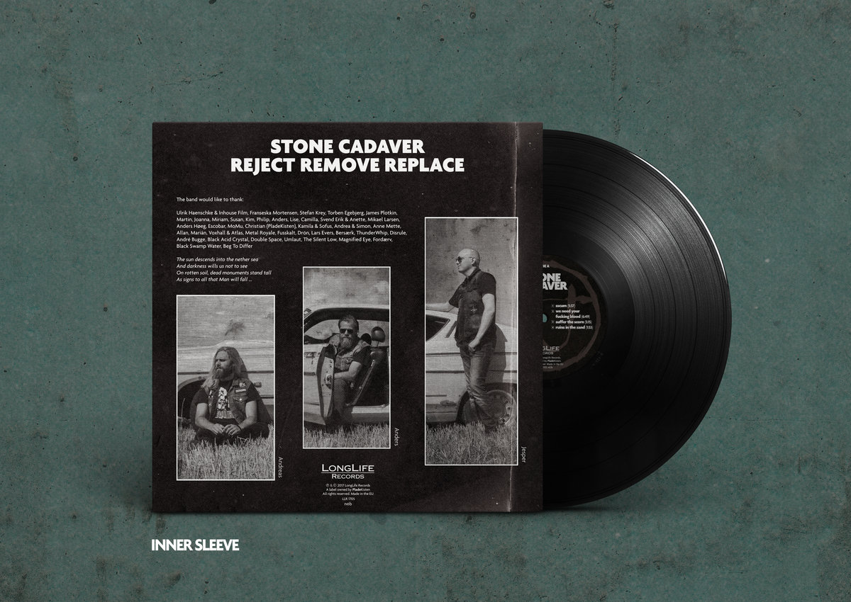 1st Pressing Of Stone Cadaver S Awesome Full Length Debut We Re Talking Old School 140 Gr Black Vinyl Just Like In The Days