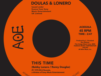 Douglas and Lonero - This Time / Dont Let Yourself Get Carried Away main photo