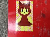 LIMITED EDITION Star Girl sticker photo