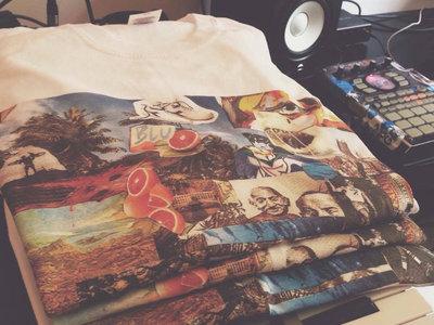 """b.rdyj t-shirt   (+ free download of """" zenzero ~ ep"""") main photo"""
