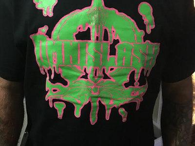Neon Slash 'Em All! Logo Shirt (2 Sided!) main photo