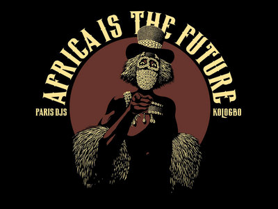 Wearplay LP#19 - Kologbo - Africa Is The Future - T-shirt Made In France + Full album digital download main photo