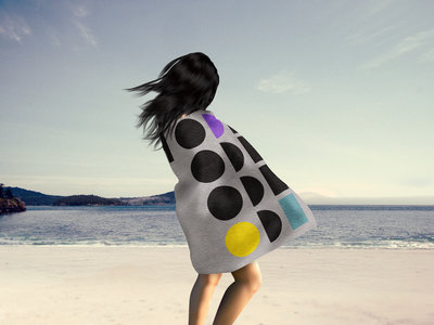 "The NQ Luxury Beach Towel ""Connect 4"" main photo"