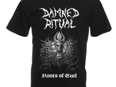 Roots of Evil - Damned Ritual T-Shirt main photo