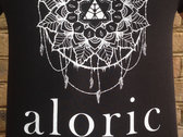 'ALORIC' Black T-Shirt // Unisex photo
